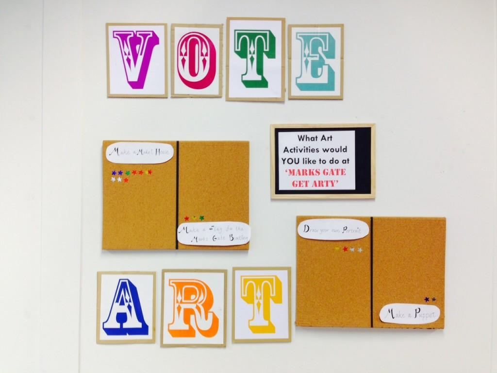 Vote art