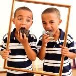 Framing  Marks Gate: Theo & Tyler Ajala
