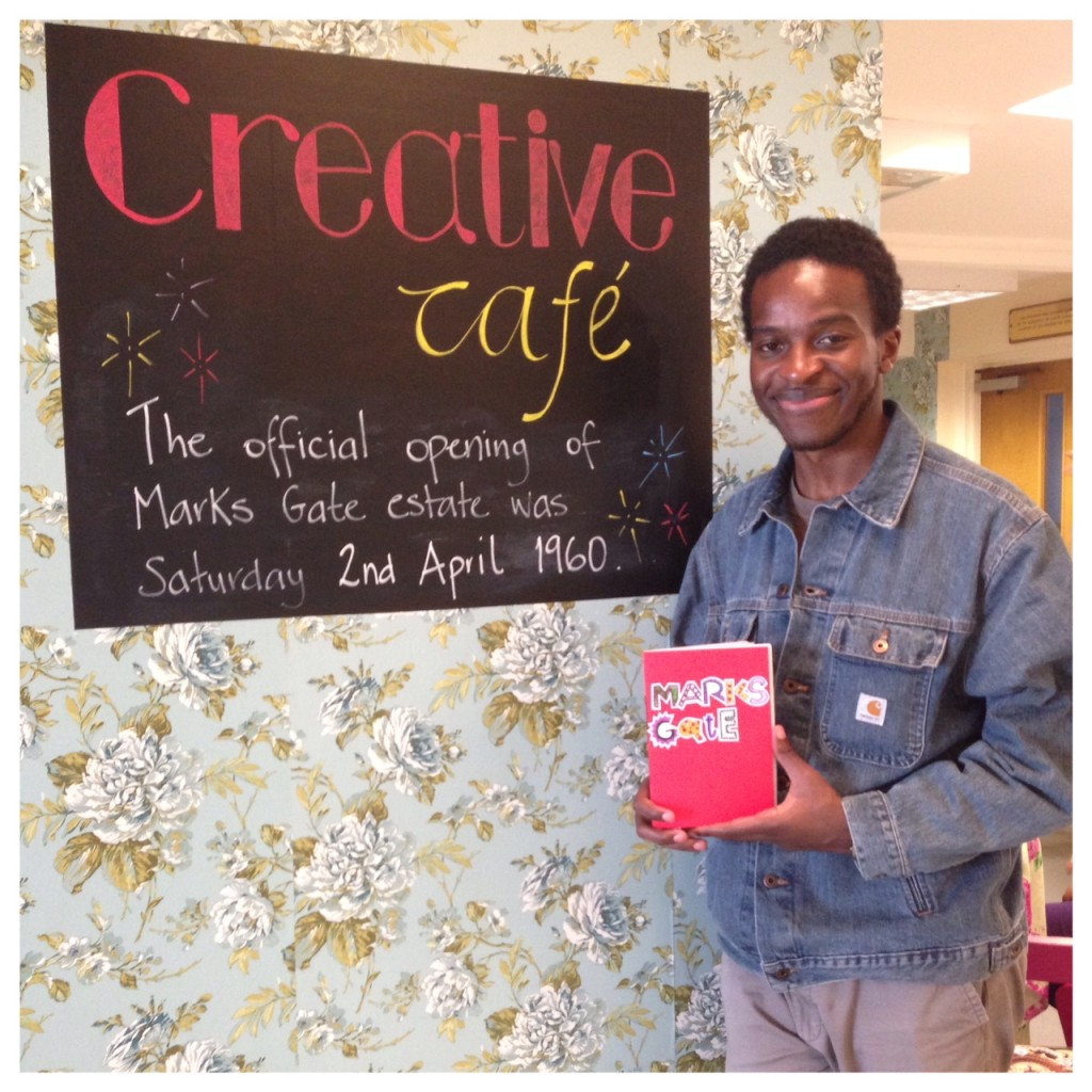 Kayo Chingonyi at the Creative Cafe