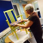 Jeannette upholstering chairs 2
