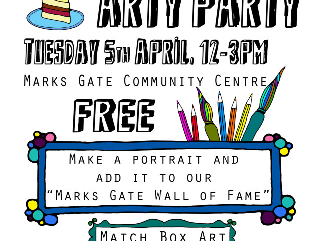 Marks Gate ARTY PARTY!