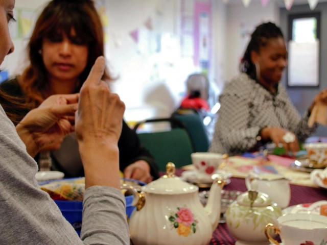 Tea Party at the Haven