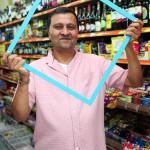 Framing  Marks Gate: Mr Patel