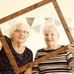 Framing  Marks Gate: Pat & Jean