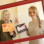 Framing  Marks Gate: Alicia & Rosie